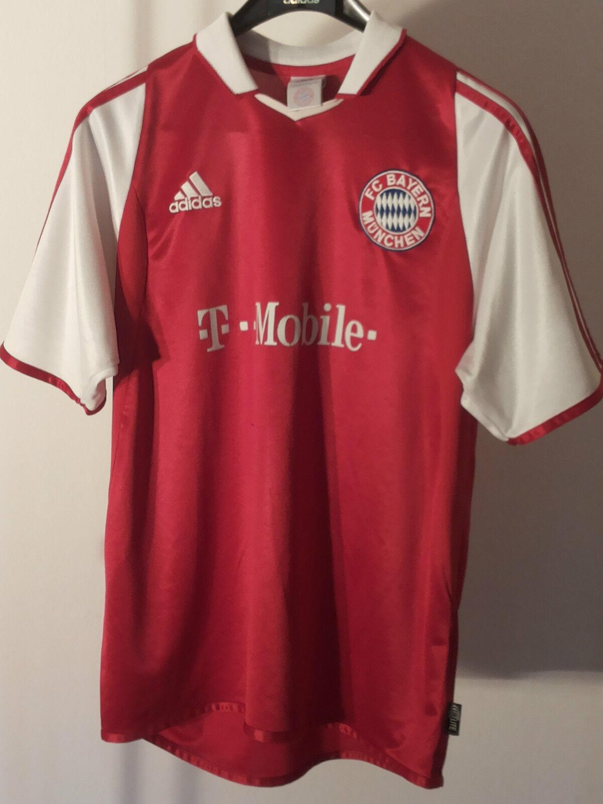 Original Adidas Bayern München Makaay Trikot Gr 176 S 2003 2003 2003 05  Champions League 81f737