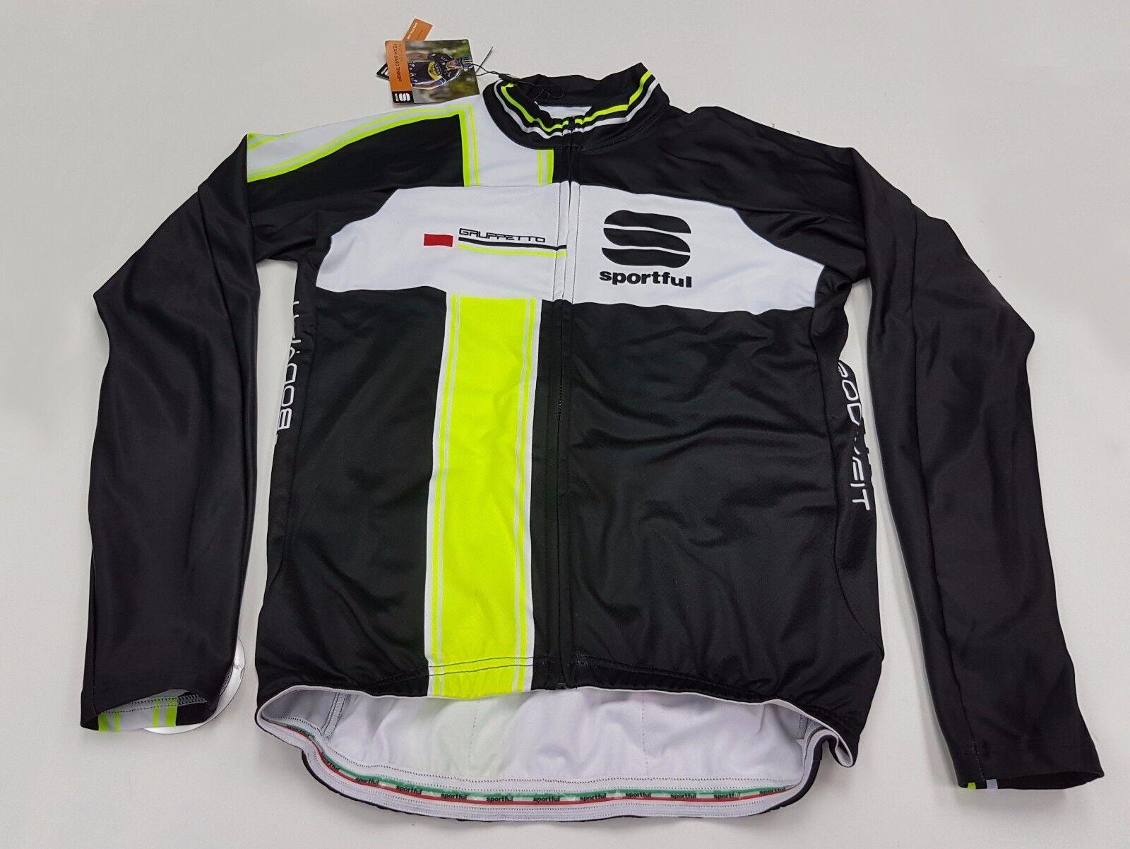 Sportful Gruppetto Men's Long Sleeve Cycling Winter Jersey Size XXL