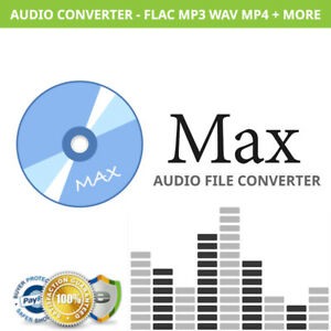 Details about Max - Audio Converter Software for Mac - Convert FLAC, MP3,  WAV, MP4, AAC + MORE