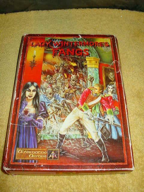 Alternative Armies 1995 - Flintloque FANGS Box Miniatures Set - Rare Group