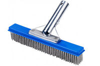 10 Swimming Pool Stainless Steel Algae Brush on sale