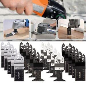 10 Saw Blade Oscillating Multi Tool For Dewalt Fein Bosch Milwaukee Porter Cable