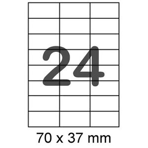240 Etiketten 70x37mm Für Internetmarke Post Briefmarke Frankierung