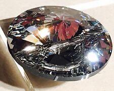 SWAROVSKI CRYSTAL Sew su 3015 Rivoli pulsanti 16mm chiaro sventate Diamanté