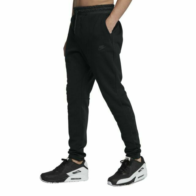 Nike Air Max Jogger Pants Black Men Size Large With Tags 886077 010