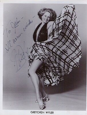 "Autographs-original Autographed ""gretchen Wyler"" Photo W/coa Delicacies Loved By All Reasonable Auth Theater"