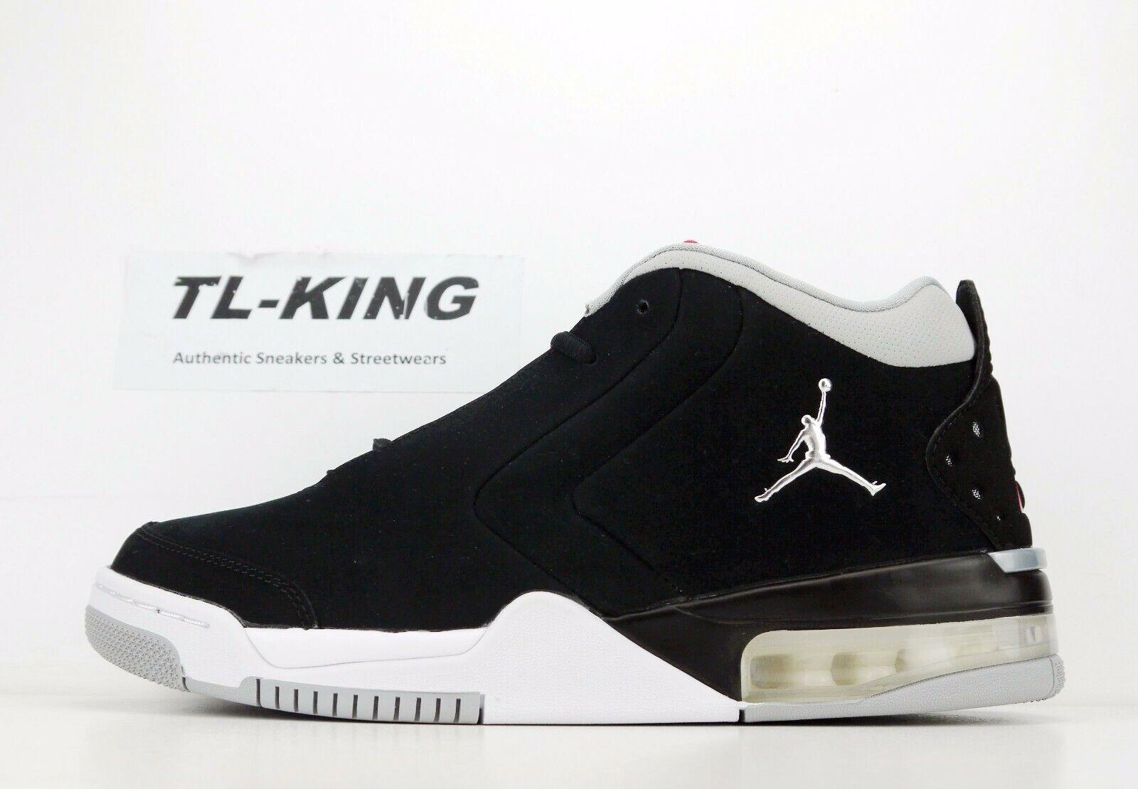 Nike Air Jordan Big Fund Black Metallic Silver White BV6273 001 Msrp  125 FE