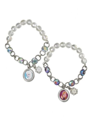 Disney Princess Frozen Charm Bracelet BFF Best Friends Sisters Anna & Elsa Set 2