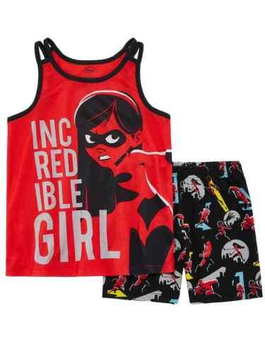 Disney Incredibles Toddler /& Girls Incredible Girl Pajamas Violet Sleep Set