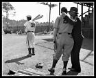 Jackie Robinson Branch Rickey Photo 8X10 Montreal Royals 1946 Dodgers