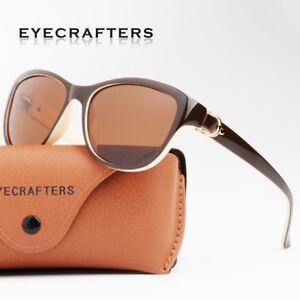 c722883b6522 Image is loading Womens-Brand-Designer-Polarized-Cat-Eye-Sunglasses-Fashion-
