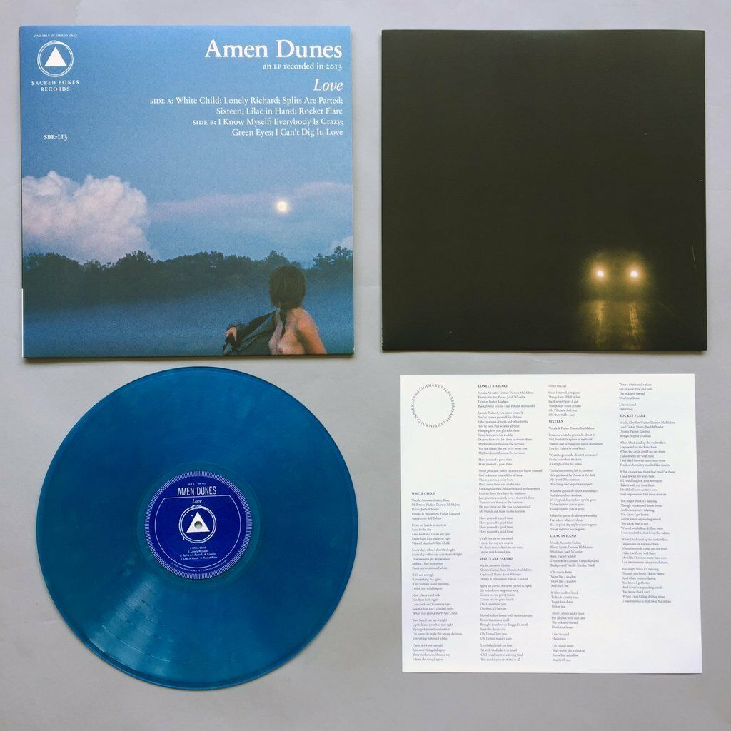 Amen Dunes Love Blue Vinyl Lp Record Mp3 Limited Godspeed You Black Emperor