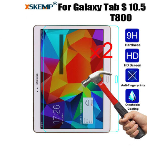 2Pcs Tempered Glass Screen Protector For Samsung Galaxy Tab 4 7.0 T230 T231 T235