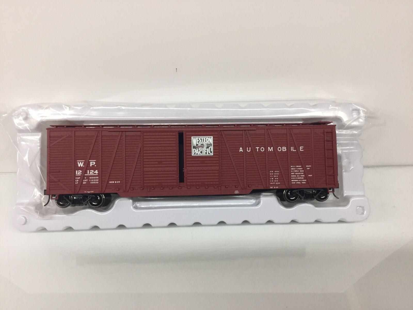 Atlas O Scale 2 Rail Western Pacific 50' Single Sheathed Box Car