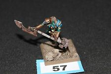 Warhammer Fantasy Tomb Kings Ushabti with Great Weapon Games Workshop Finecast B