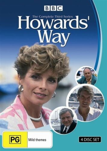 1 of 1 - Howards' Way : Season Series 3 (DVD, 2009, 4-Disc Set) NEW AND SEALED R4 DVD