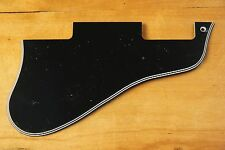 SEMIAKUSTIK PICKGUARD f. GIBSON® ES-335 BLACK BWBWB 5PLY SHORT STYLE HALBAKUSTIK