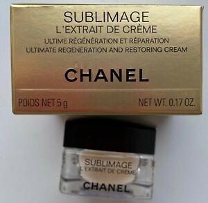 Chanel-Sublimage-L-039-Extrait-de-creme-5-ml-0-17-fl-oz-MINIATURE-VIP-GIFT