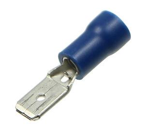 10-Stueck-4-8mm-Flachstecker-Quetschverbinder-BLAU-bis-ca-2-5mm-Kabel
