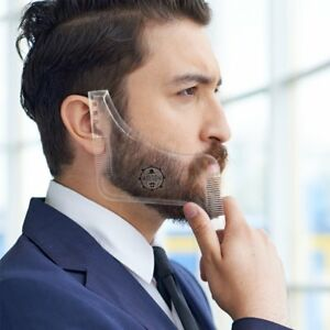 Tool For Perfect Styling Shaping Template Comb Trim Bro Beard Men