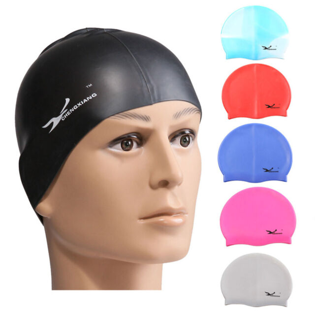 Quality swimming caps silicone 100/% various colours