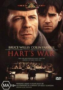 Hart-039-s-War-R4-DVD-2004-Bruce-Willis-amp-Colin-Farrell-GC-FREE-POST
