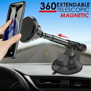 360-Magnetic-Car-Phone-Holder-Universal-Mount-Windscreen-Dashboard-Suction