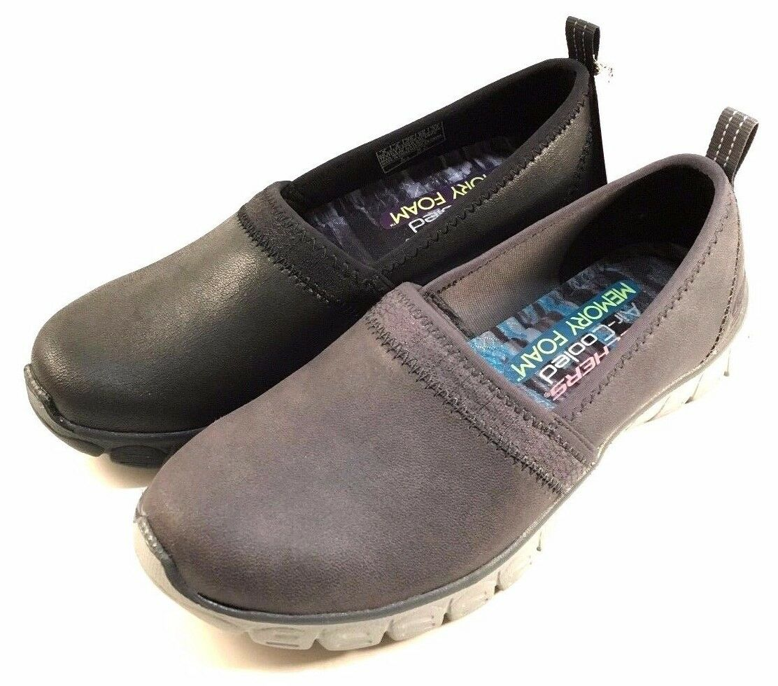Skechers 23435 Air Cooled Memory Foam Slip On Walking shoes Choose Sz color
