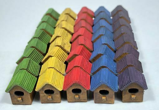 Wingspan Board Game 3d Birdhouse Upgrade Action Markers