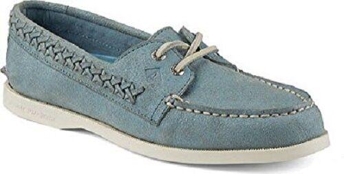 SPERRY TOP SIDER Damenschuhe BOAT Schuhe A/O QUINN ASH Blau SIZE  5 M
