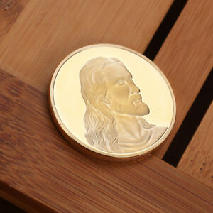 Jesus-Gold-Plated-Coin-Commemorative-Art-Collection-Coin-Collectible-Accessory