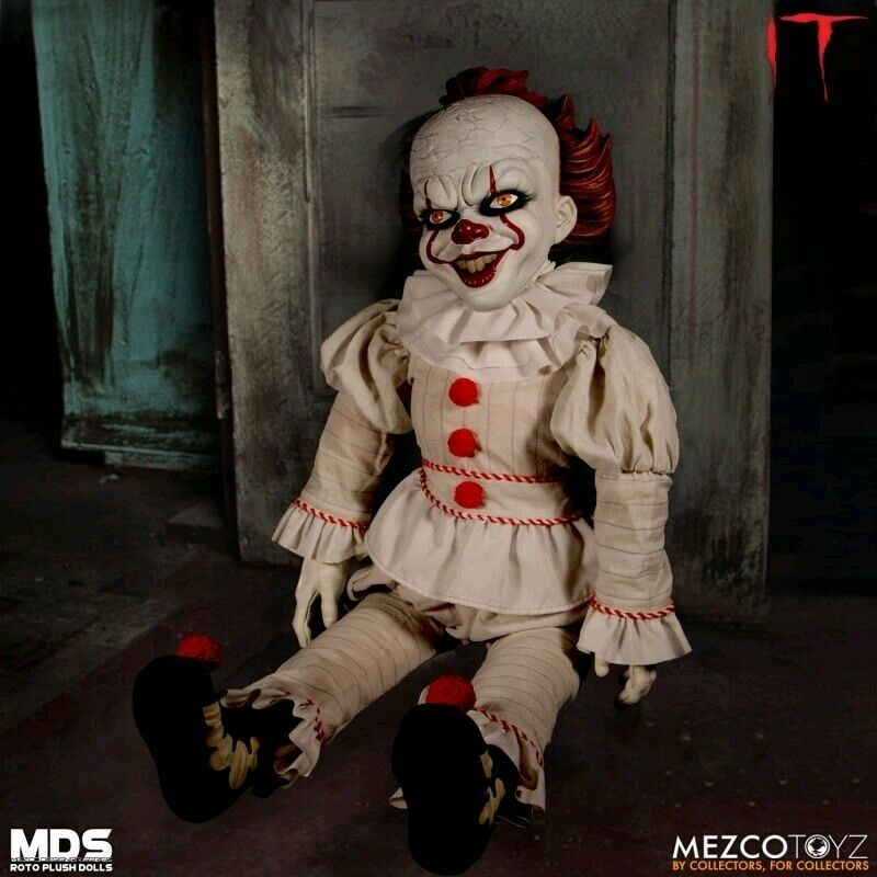 It (2017) - Pennywise 45cm(18 ) MDS Roto Plush Doll