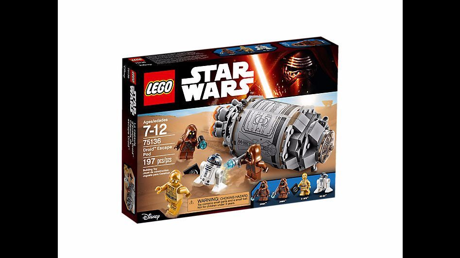 NEW LEGO 75136 Star Wars Droid Escape Pod R2 R2 R2 D2 3-CPO JAWA 16cd51