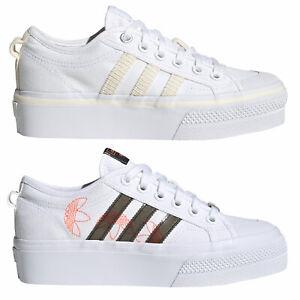 Adidas-Originals-Nizza-Plataforma-Zapatillas-Mujer-de-Deporte-Ocio-Botas