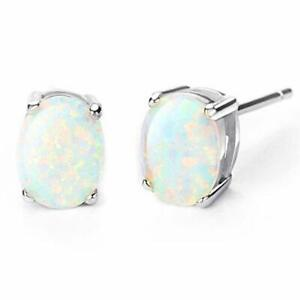 18K-Gold-Plated-White-Opal-Halo-Pave-RAINBOW-Stud-Earring-with-Crystals-ITALY