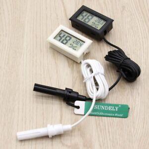 Thermometre-digital-Hygrometre-Sonde-Metre-pour-Reptile-Aquarium-Incubateur