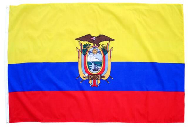 Fahne/Flagge Ecuador 90x150 Frauen Fussball WM 2015 Gruppe C