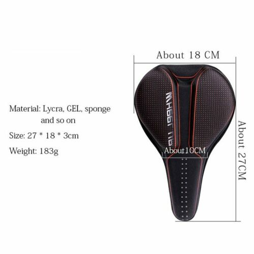 Details about  /3D GEL Bicycle Saddle Cover Men Women MTB Road Cycle selle velo route coprisella