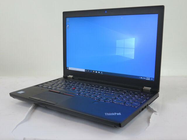 """Lenovo ThinkPad P50 15.6"""" 2.70GHz i7 6820HQ 32GB 256GB SSD 500GB HDD Webcam W10P"""