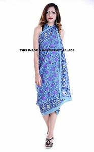 4d8d96995ffaf Image is loading Indian-Fashion-Women-Long-Block-Print-Cotton-Scarf-