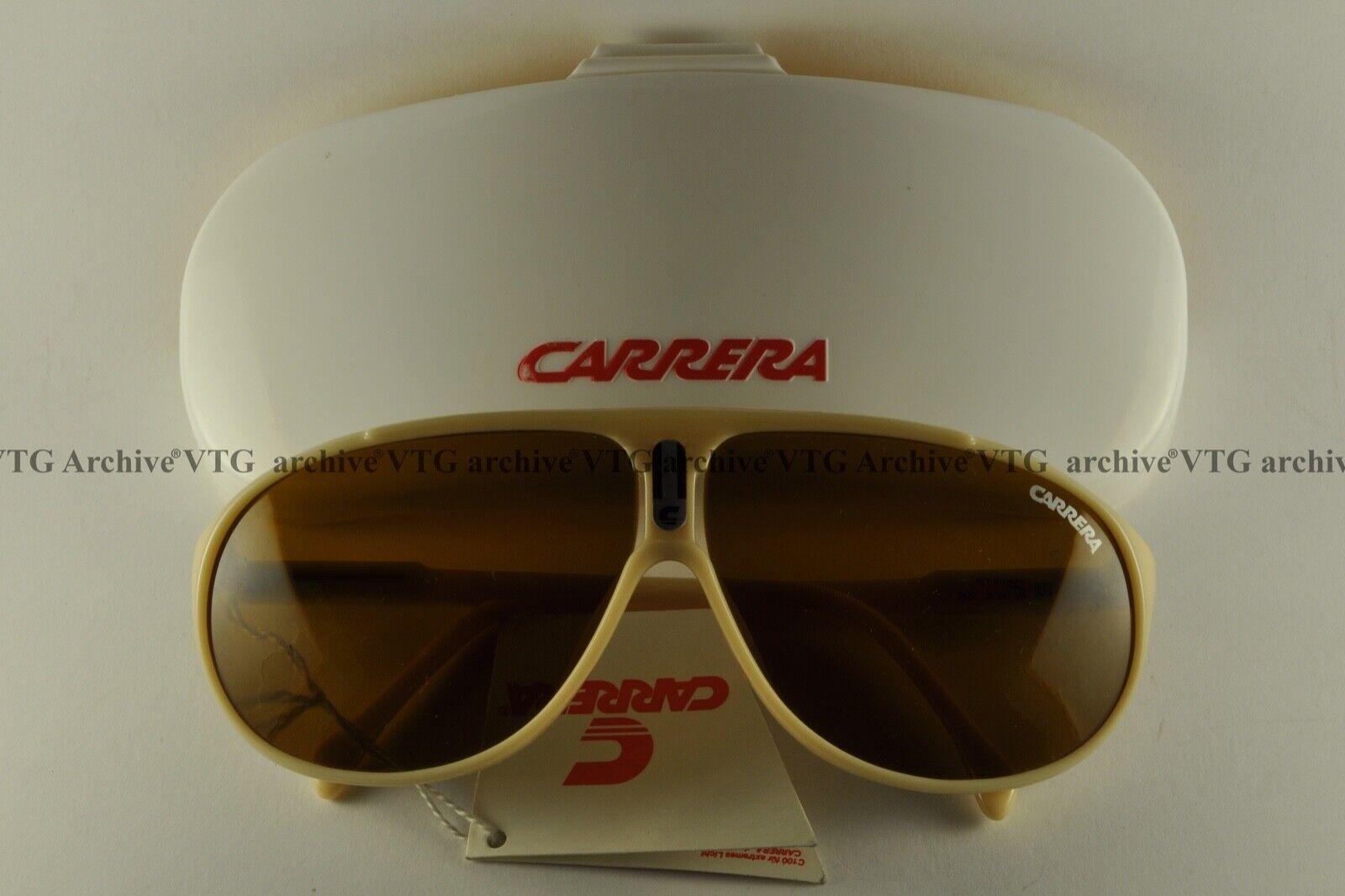 NOS Vintage Sunglasses Carrera 5412 aviator sky snow size 60[ ]16 Germany medium