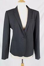 J.Crew $288 Campbell Blazer Italian Stretch Wool 14 NWT Black B3231 L Large