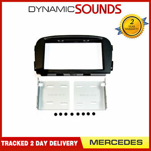 50-658 Pre Facelift Double Din Car Stereo Fascia Panel for Mercedes SL 2002-2011