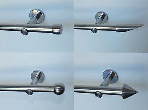 Vorhangstange-20-mm-Edelstahl-Optik-in-jeder-Laenge-mit-sehr-stabilen-Wandhaltern
