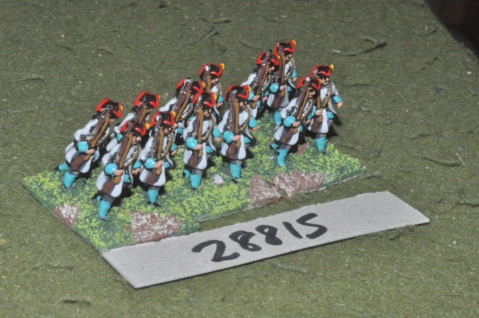 25mm marlburian   dutch - regt. 12 figures - inf (28815)