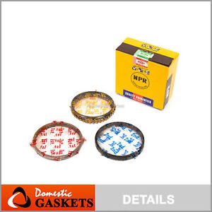DNJ PR407 Standard Piston Ring Set For 01-02 Kia Rio 1.5L L4 DOHC 16v