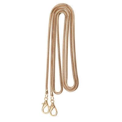 DIY Bag Strap Chain Shoulder Bag Accessories Handle Replacement 120cm Coffee