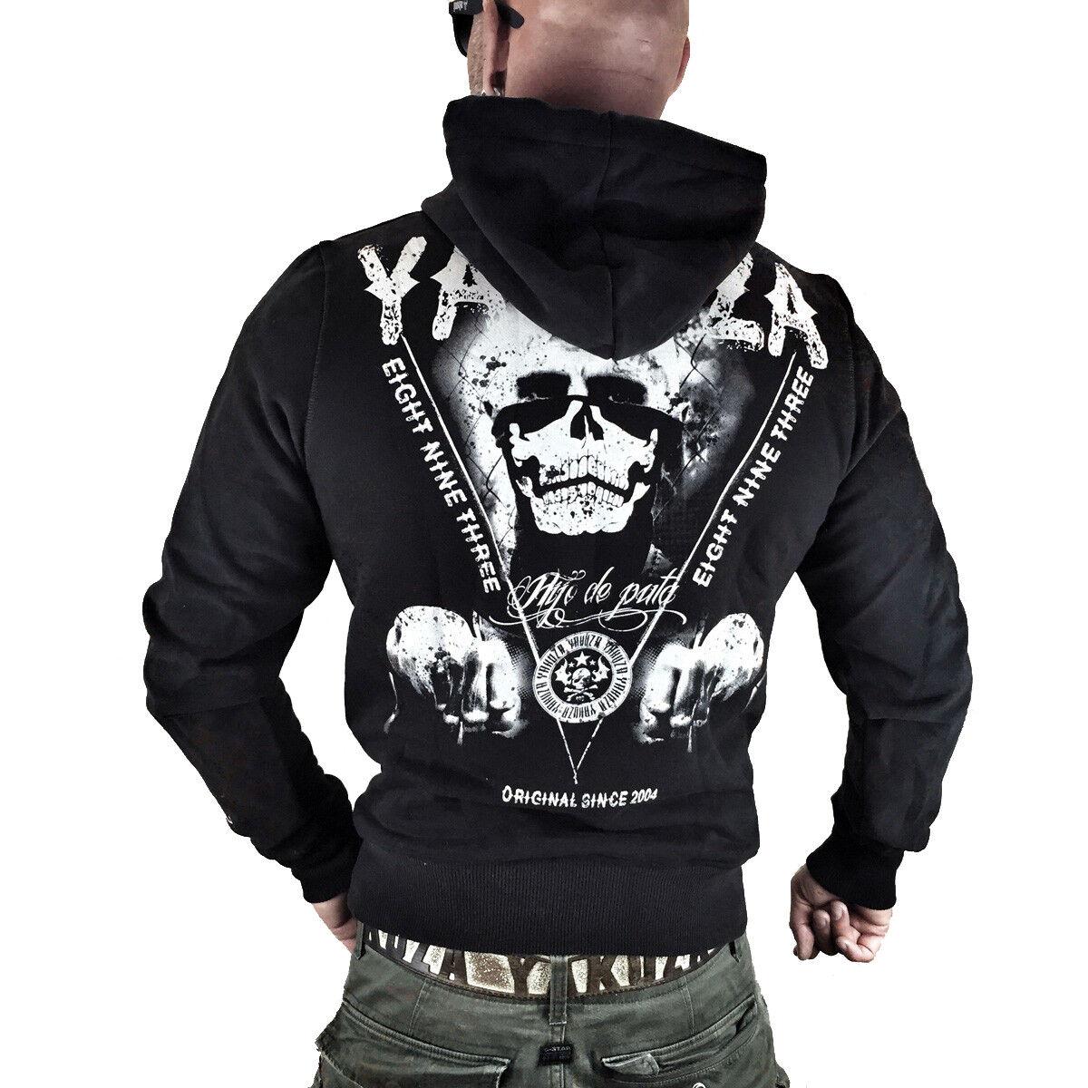 YAKUZA - Herren Hoodie HOB 7023  Mexican  schwarz (schwarz)