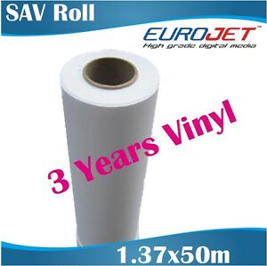 graphic relating to Printable Self Adhesive Vinyl Roll identified as Information and facts with regards to Printable White Self Adhesive Vinyl Roll 1.37x50m, Eco-sovent or Latex Ink