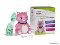 Inhaler Nebuliser Compressor For Children Kids Child Respiratory Kitten Cat